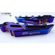 COCO機車精品 APEXX 燒鈦 極度飛踏 飛旋踏板 後座腳踏板 三代 四代 勁戰 FORCE Jet S 雷霆 S(2000元)