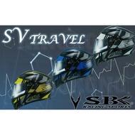 【金剛安全帽】SBK SV TRAVEL 可掀式 全罩 安全帽 可樂帽 汽水帽 內襯全可拆 通風舒適 雙D扣