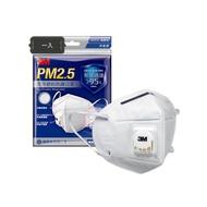 3M PM2.5 空污微粒防護口罩 9501V 帶閥 一入
