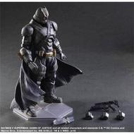 【可動】【多米諾DOMINO】 Play arts 重裝蝙蝠俠 BATMAN PA改 厚裝甲 超級英雄 DC英雄超人大戰