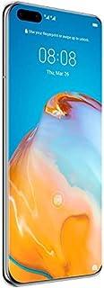 Huawei P40 Pro 5G ELS-N04 256GB 8GB RAM International Model - Silver Frost - (Only GSM No CDMA) (256GB, P40 Pro, Silver Frost) (256GB, P40 Pro, Silver Frost)