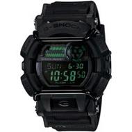 CASIO G-SHOCK 跳色反轉液晶螢幕數位電子錶-黑(GD-400MB-1)
