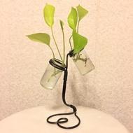 手工製作 藝術盆栽 九重葛盆栽 小盆栽 鋼絲藝術 客廳擺飾 辦公桌擺飾 桌面盆栽