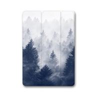 iPad Air1/2/9.7/10.5/Pro/mini123迷霧森林 iPad 防摔保護殼   耐衝擊 抗震 超薄 矽膠 皮套 變形金剛