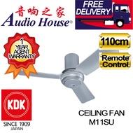 KDK 110CM CEILING FAN M11SU WITH REMOTE CONTROL