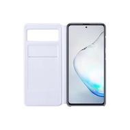 【SAMSUNG 三星】Galaxy Note10 Lite 透視感應皮套 台灣原廠公司貨
