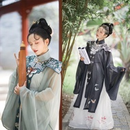 Women Chinese Style Traditional Hanfu Shawl Butterfly Cardigan Robes Coats Oriental Clothing Tang