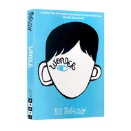 Wonder R.J. Palacio Inspirational Classic Children Book Original Novel of The Film of The Same Name Home Educational Books Reading for Kids Gifts