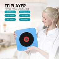 YO Wall Mountable CD Player Portable Bluetooth Music Player with Remote Control