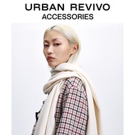URBAN REVIVO2020 Spring New Products Youth Women's Accessories Pure Color Tassel