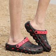 涼鞋-夏季新款洞洞鞋男拖鞋休閒百搭涼鞋潮男涼拖鞋防滑沙灘鞋學生 愛麗絲精品