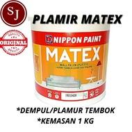 Matex Plamir Plampul Plamur Plamur Wall Filler 1kg Putty Wall Filler