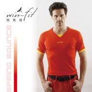 SANTO win-fit 微氣候運動衫-世足紅