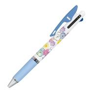 耀您館★日本製UNI角落生物溜溜筆JETSTREAM三色筆0.5mm原子筆PP44801圓珠筆考試筆3色筆黑紅藍筆鋼珠筆