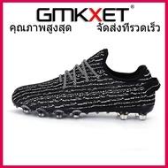 GMKXET รองเท้าฟุตบอลชายผู้หญิงยาว Spikes และ TF ยี่ห้อกีฬากลางแจ้งรองเท้าผ้าใบออกกำลังกายผู้ใหญ่ฟุตบอลมืออาชีพรองเท้ารองเท้าผ้าใบ-รองเท้าวิ่ง-รองเท้าฟุตบอล-รองเท้าผ้าใบ