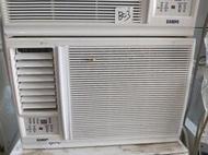 二手中古聲寶0.8噸窗型冷氣,110v,2015年,有2台,保固3個月,請加line帳號chin0290問大戶藥師
