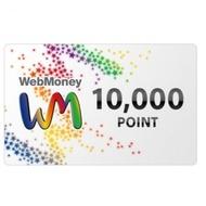 WebMoney 10000點 WM 點數卡 日本 儲值卡 虛擬貨幣 電子錢包 實體卡可線上發卡【台中星光電玩】