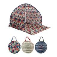 【日本BISQUE】ZELT 抗UV野餐秒開帳篷 共3款《屋外生活》