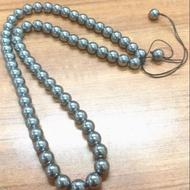 日本養生能量石 可溶冰 鈦赫茲 8.5M 鈦赫茲圓珠墬鍊 項鍊
