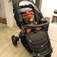 【嬰兒推車】Britax-B-Agile 單手收豪華四輪手推車-黑色