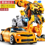 Transformers Toys Model Car Robot Bumblebee Dinosaur Garage Kit Alloy Version Action Figure Robot Boy Toys Children Gifts