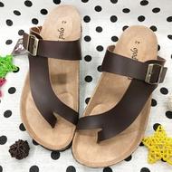 男款勃肯造型夾腳拖鞋 [5176] 咖啡【巷子屋】