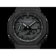 CASIO卡西歐 G-SHOCK 超人氣的八角錶殼設計 耐衝擊構造 防水200米 GA-2100-1A1