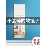 Acrylic Mirror High Clearness Mirror Whole Body Soft Glass Mirror Sticker Wall Sticker Wall Wallpaper Self-Adhesive Cosm