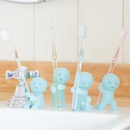 Smiski|不可思議的夜光精靈-療癒牙刷架