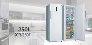 【SANLUX 台灣三洋 】《 SCR-250F 》250L 單門 直立式 三洋冷凍冷藏櫃