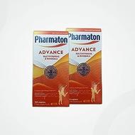 2 Packs x Pharmaton Advance Multivitamin and Mineral Capsules, 100 Capsules
