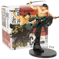 อะนิเมะOne Piece BWFC Banpresto World Figure Colosseum Champion Roronoa Zoro PVCรูปชุดของเล่น