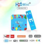 H96 Mini H6 4G/128G 6K Allwinner H6電視盒機頂盒非S912便當小米盒子