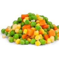 【大江生鮮】冷凍四色豆一公斤裝!玉米粒/紅蘿蔔丁/豌豆仁/馬鈴薯丁