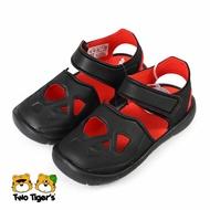 【全舘再打93折】ADIDAS FORTASWIM 2 黑紅 護趾涼鞋 小童鞋 NO.Y1587