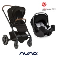【nuna】全新 MIXX手推車 (黑色) + 全新 PIPA提籃汽座 (黑色)