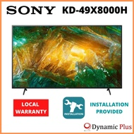"""*NEW LAUNCH* Sony KD-49X8000H 49"""" 4K Ultra HD HDR Android TV"""