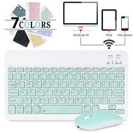 Mini Wireless Keyboard Bluetooth Keyboard For ipad Phone Tablet For iPad Bluetooth Keyboard and Mouse For Samsung Xiaomi