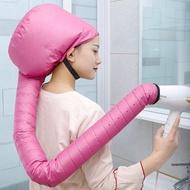 หมวกคลุมผมแบบพกพาหมวก Gorro Secador Touca Difusora อบไอน้ำแห้งเร็วน้ำมันอบเครื่องพ่นไอน้ำเครื่องมือทำผมแห้ง
