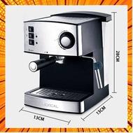 เครื่องชงกาแฟ เครื่องชงกาแฟอัตโนมัติ เครื่องชงกาแฟสด เครื่องชงกาแฟเอสเพรสโซ เครื่องทำกาแฟขนาดเล็ก Coffee Machin กรณีสินค้ามีสี ไซท์ เ