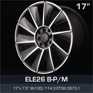 17 inch 7.5JJ 4X100 4X114.3 ET38 ORI CAR SPORT RIMS WHEELS ELE26