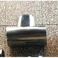 {岱順水電材料}~[廚房零件]~白鐵 三通 ST油管 排煙管排風管 抽油煙 排油煙機 風管
