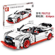 現貨- 森寶 701712 迴力車系列 Nissan GTR /相容樂高
