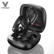 VTUOGE B10 Bluetooth 5.0 Wireless Earbuds Bluetooth Earphone IPX5 Waterproof Headset Noise Reduction