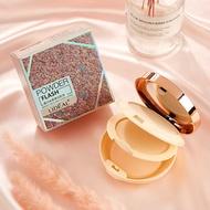 【☛ 小米粒 ☚】【現貨】 彩妝靈點LIDEAL控油礦物質雙層粉餅干濕兩用保濕遮瑕提亮膚色粉餅