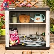 MG Outdoor Balcony Garden Gardening Waterproof Storage Cabinet Outdoor Planting Tools Sorting Locker Household Storage C