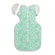 Love To Dream Swaddle UP 50/50 Transition Bamboo Lite - Mint Arrow