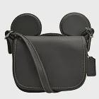 【COACH】迪士尼限量聯名款小牛皮米奇造型斜背包-黑(現貨+預購)黑