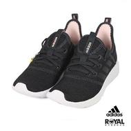 Adidas Cloudfoam 黑色 網布 套入式 運動休閒鞋 女款 NO.I9302【新竹皇家】