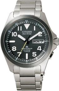 นาฬิกาข้อมือ CITIZEN PROMASTER Promaster Eco-Drive นาฬิกาวิทยุ Land Series PMD56-2952ผู้ชาย